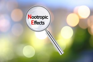 nootropic effects in magnifying glass