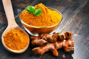 turmeric root and powder natural