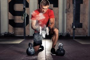 crossfit dumbbell exercise