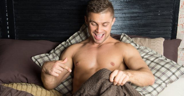 happy with his privates