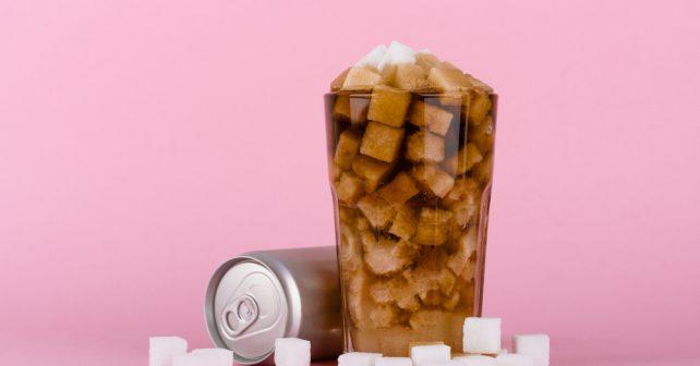 sugar loaded soda drink