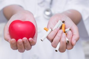stop smoking for your heart