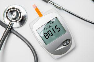 cholesterol level meter