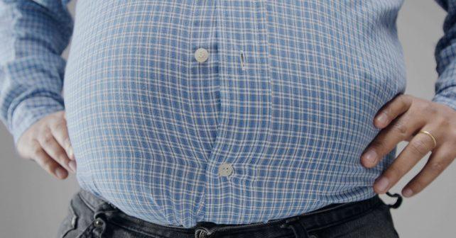 man big belly