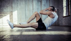 crunches and sit-ups